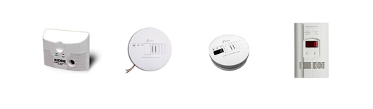 carbon monoxide detector placement